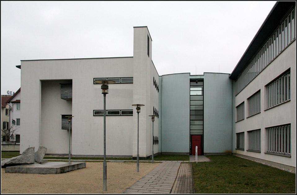 Architekten Reutlingen Umgebung finanzamt reutlingen die bürofassaden wurden schlicht verputzt die
