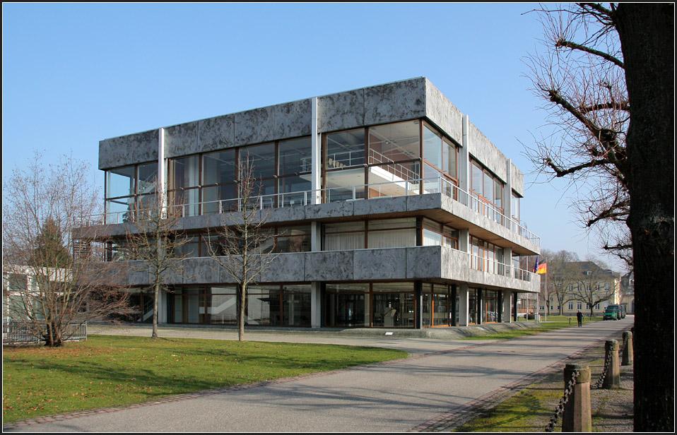 Architekten Karlsruhe sehr transparent bundesverfassungsgericht in karlsruhe am