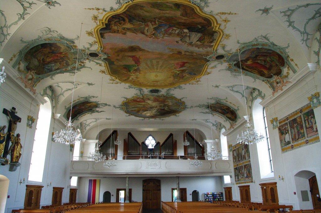 Baar, Fachwerkhaus der Galerie Ziegler, Dorfstr. 6, Kanton Zug (09.08 ...
