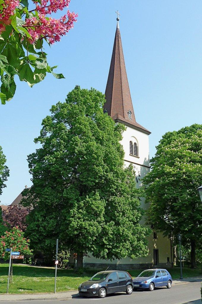 Bad Krozingen, die evangelische Christus-Kirche wurde 1935