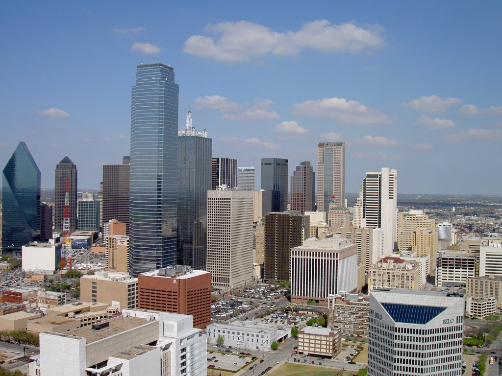 Dallas, Downtown (15.03.2007)