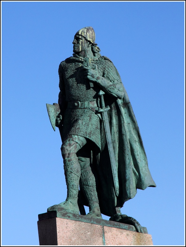 leif eriksson Leif eriksson was born in iceland in about 960 ad he was the second son of famous viking explorer, erik the red and his wife thjodhild he had two brothers, thorvald.