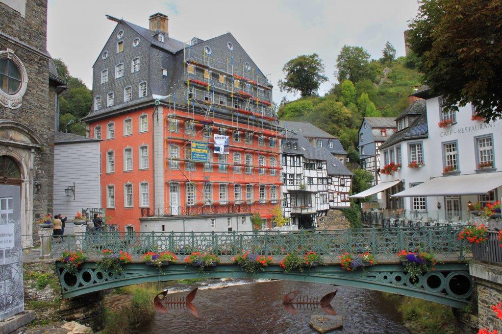 Das Rote Haus in Monschau erbaut mitte des 18 Jahrhundert