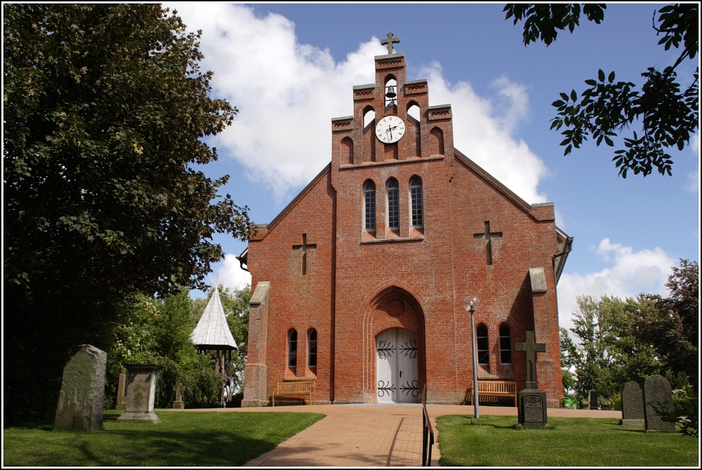 die neue kirche auf pellworm wurde 1621 22 errichet und