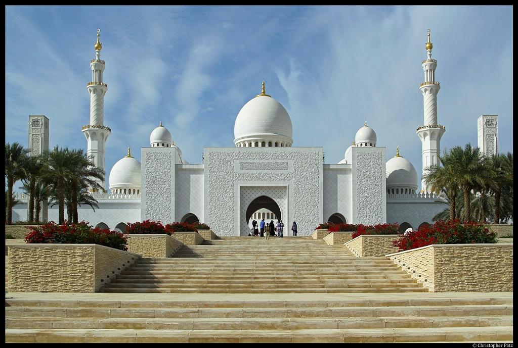 Neuseeland Moschee Video Photo: Die Scheich-Zayid-Moschee In Abu Dhabi Ist Die