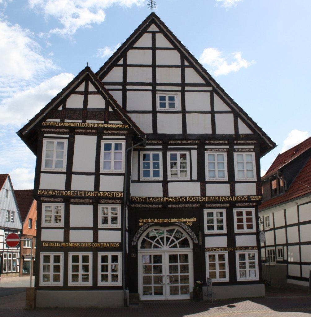 Fachwerkhaus In Springe Am 14 04 2011 Staedte Fotos De