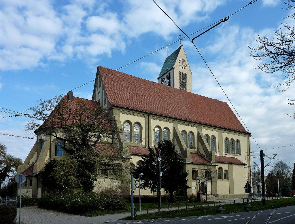 Freiburg im Breisgau, die katholische St.Michael-Kirche im