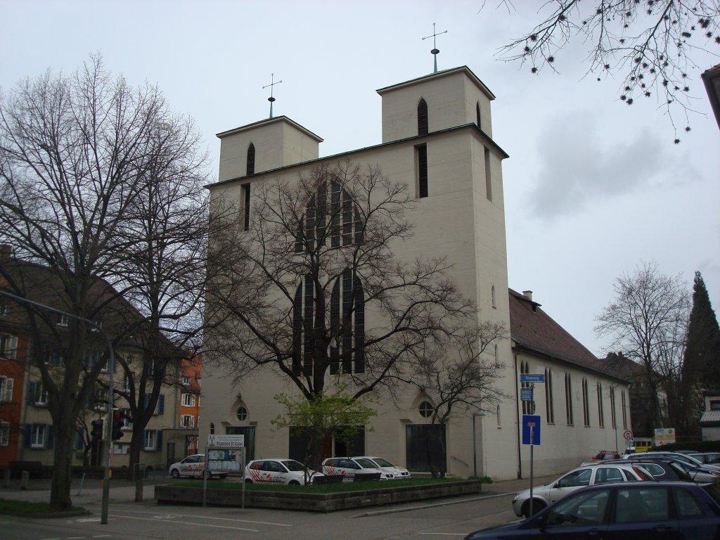 freiburg im breisgau stadtteil br hl katholische kirche st konrad und elisabeth 1930 als. Black Bedroom Furniture Sets. Home Design Ideas