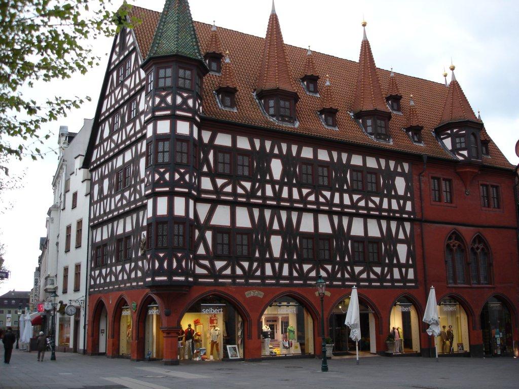 Galerie erste 14 staedte for Fachwerkbauten deutschland