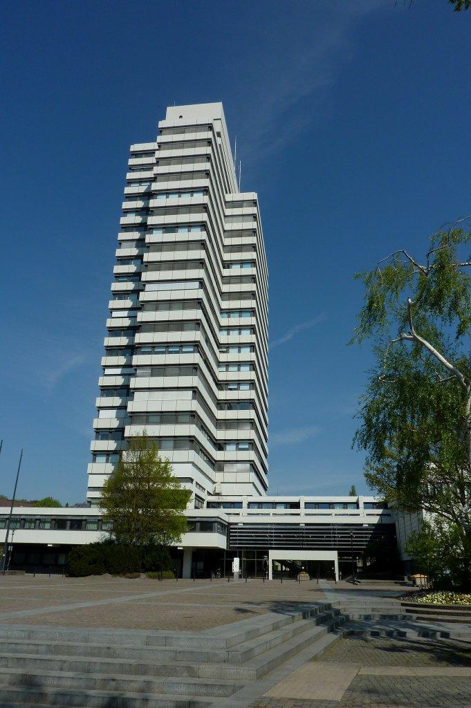 Architekt Kaiserslautern kaiserslautern das rathaus mit 84m höhe nach essen 106m das