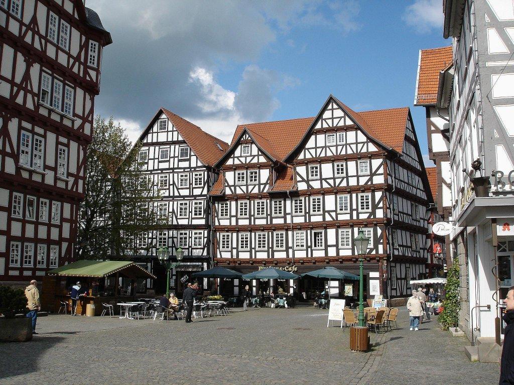 Deutschland fotos 15 staedte for Fachwerk bildung