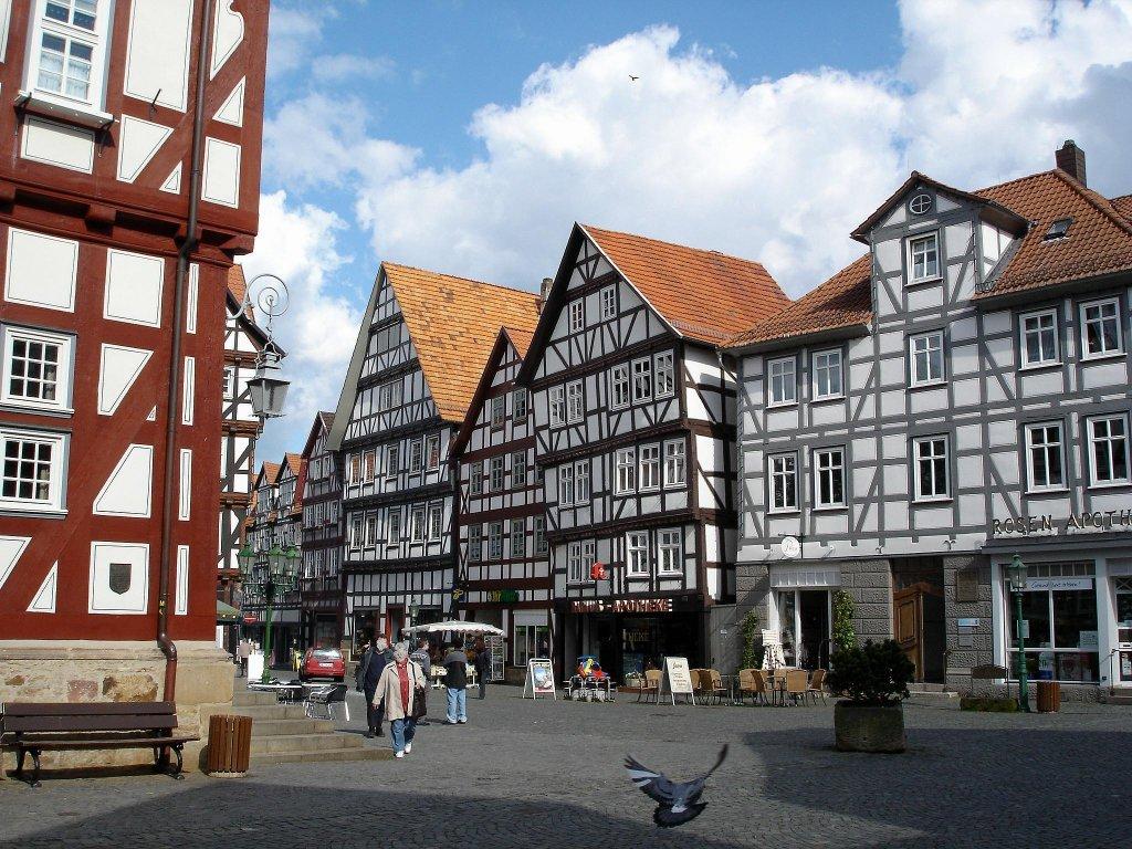 Deutschland fotos 15 staedte for Fachwerkbauten deutschland