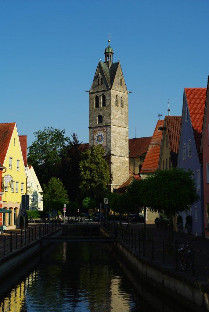 Memmingen, Kirche Unser Frauen, Fresken aus dem 15. und 16