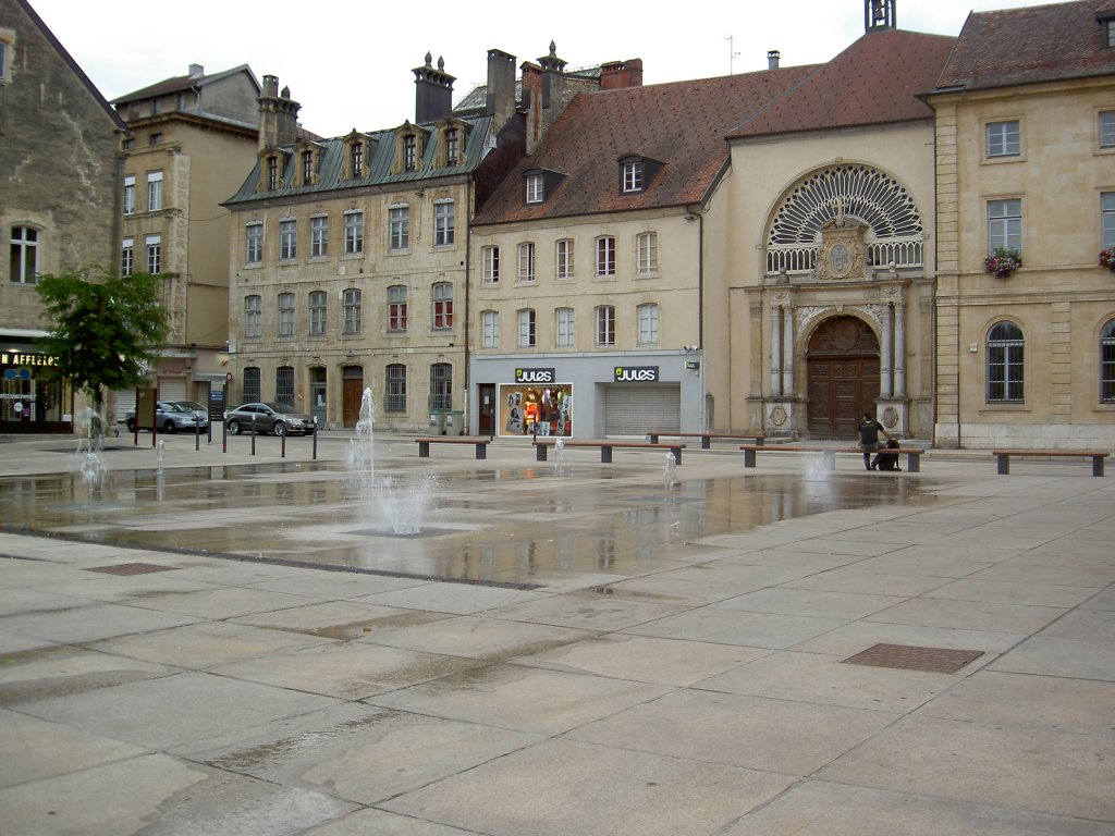 Pontarlier, Place d` Arcon (28.07.2012)