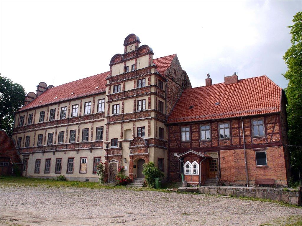 Schloss Gadebusch (zwischen Schwerin und Ratzeburg), ein ...