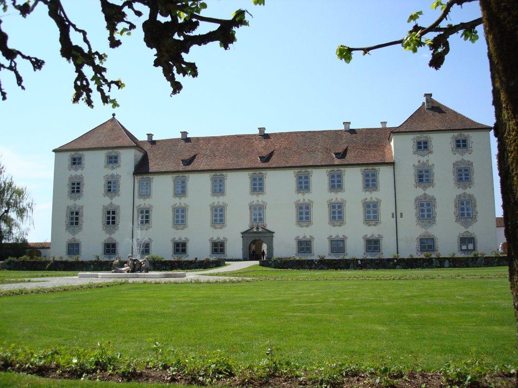 schlo zeil in der n he von leutkirch allg u erbaut 1599 1614 au enbesichtigung m glich aug. Black Bedroom Furniture Sets. Home Design Ideas