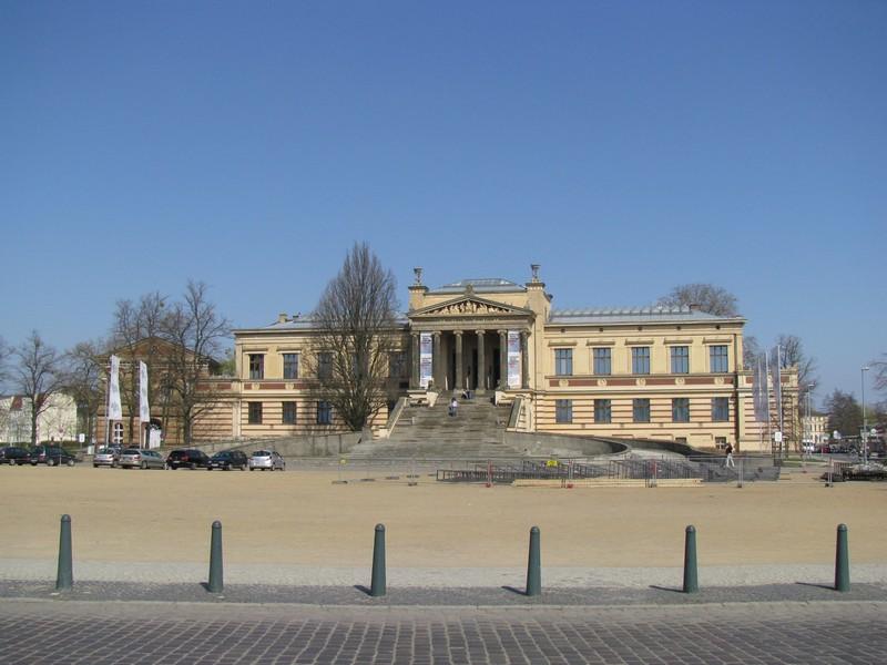 Schwerin Alter Garten Staatliche Museum An Der Werderstraße 1804