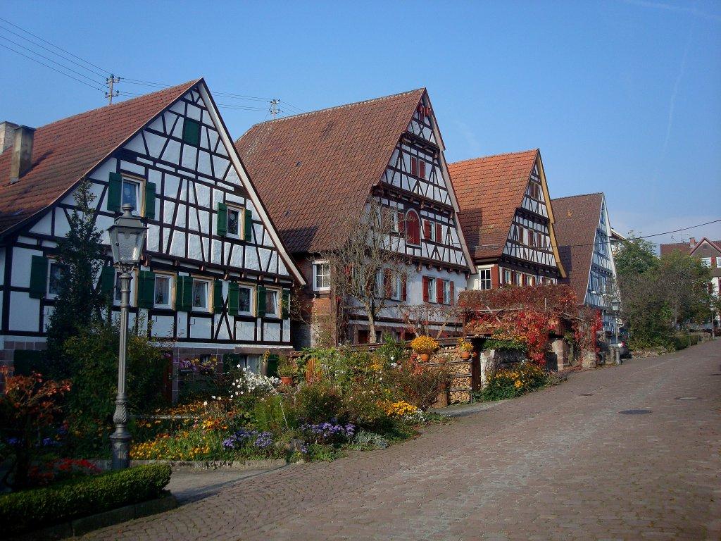 Zavelstein im nordschwarzwald war bis 1975 zur for Fachwerkbauten deutschland