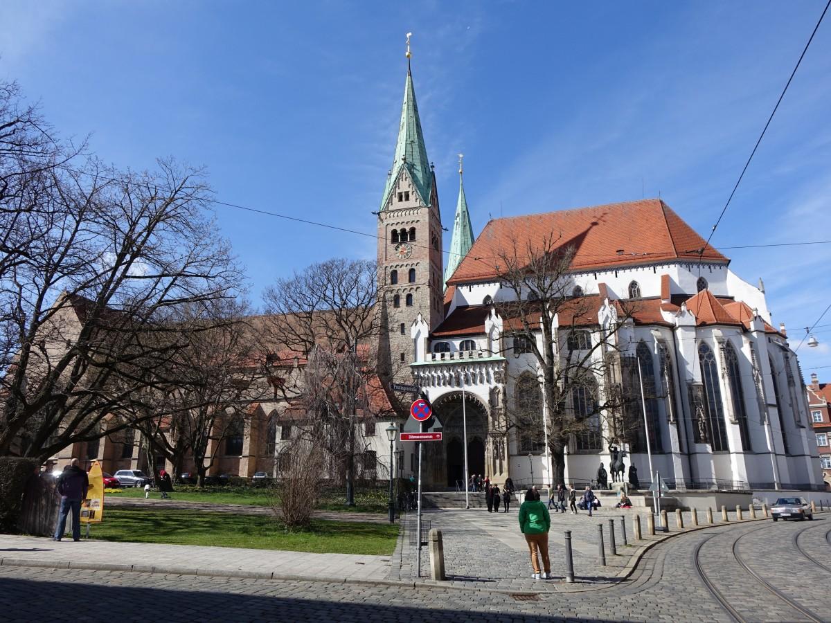 augsburg dom maria heimsuchung erbaut ab 994 gotisch eingew lbt von 1325 bis 1343 kathedral. Black Bedroom Furniture Sets. Home Design Ideas