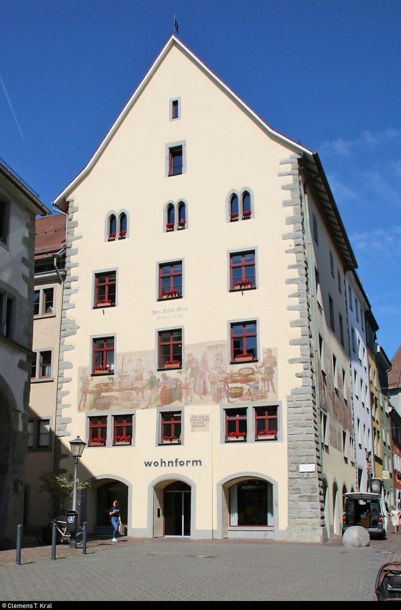 Blick auf das Hohe Haus Zollernstraße 29 Baujahr 1294