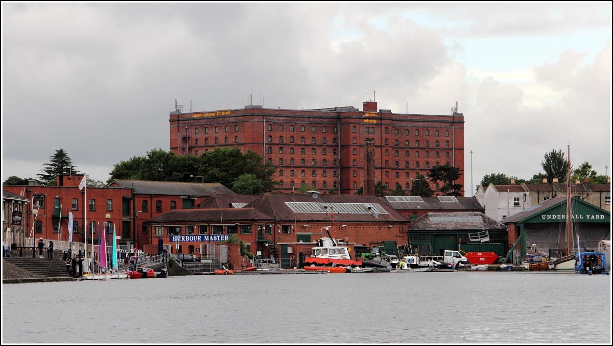 Bristol das wuchtige warehouse 1 wurde anfang des 20 jahrhunderts