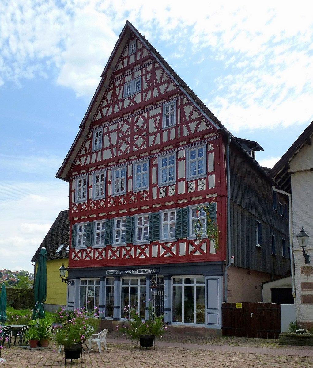 Fachwerkhaus aus dem jahre 1611 in haltern am see for Fachwerkbauten deutschland