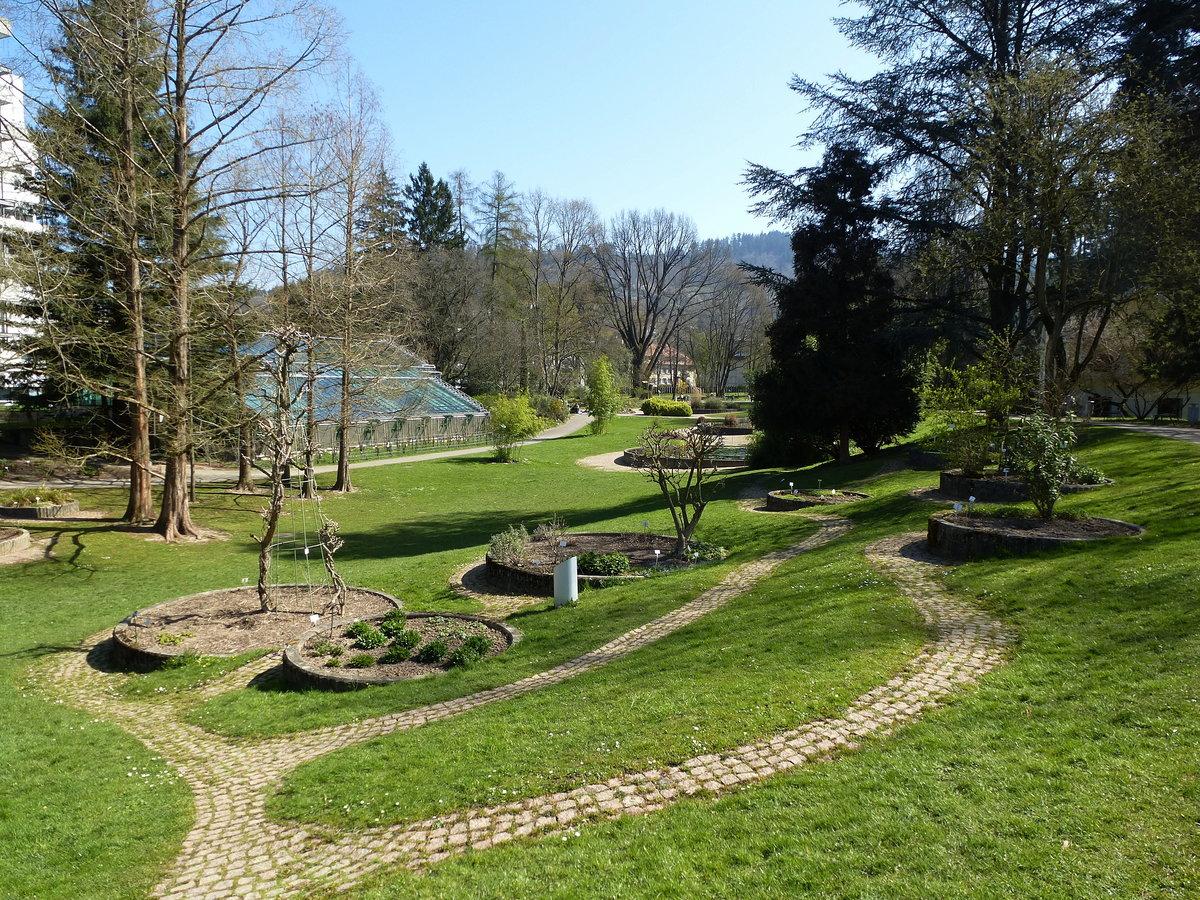 Freiburg blick in den botanischen garten angelegt um for Garten pflegeleicht angelegt