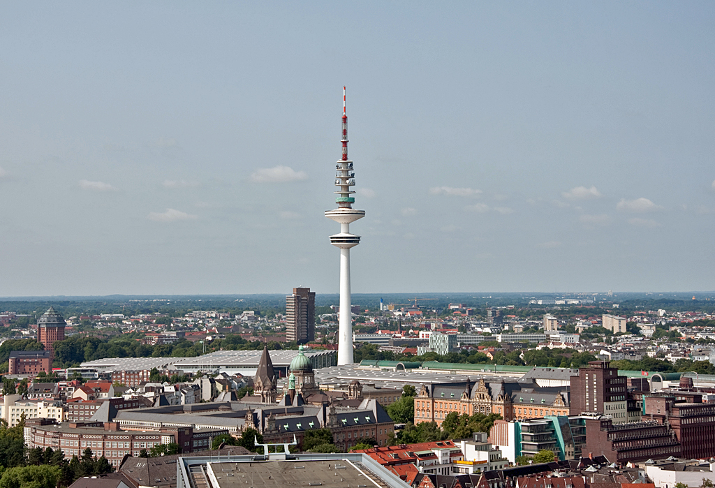 Turm In Hamburg