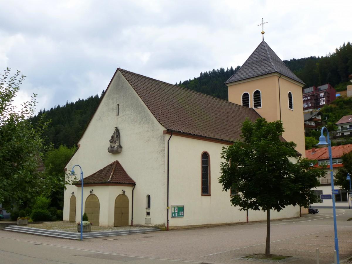 Walke Die Katholische Filialkirche St Marien Erbaut 1955