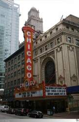Das Chicago Theater, aufgenommen am 14. September 2011.