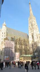 Der Stephansdom in Wien.(23.3.2013)