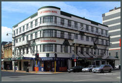 Law Courts Hotel in Dunedin. (27.10.2016)