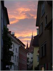 Abendstimmung in Lindau.