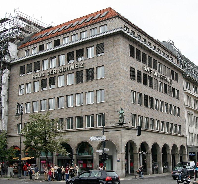 Berliner architektur 1933 45 haus der schweiz diese - Haus der architektur ...
