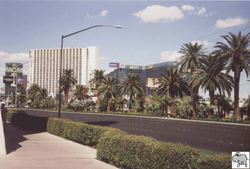 Prominente Hotels am Las Vegas Strip