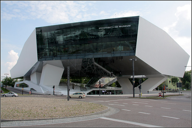 Stuttgarter Architekten ein neues stück moderner architektur erhielt stuttgart mit dem