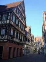 Herrenberg der marktplatz ist ein glanzpunkt for Fachwerkbauten deutschland
