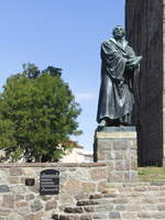Denkmal für Martin Luther am 18.