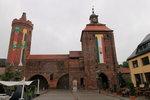 Stadtmauer mit Steintor und Hungerturm am 01.