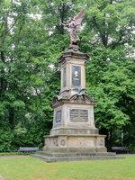 Kriegerdenkmal in Bernau bei Berlin von 1890 am 01.