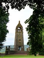 Das 1901 bis 1904 erbaute Berger-Denkmal Mitte Juni 2018 in Witten.