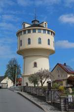 Wasserturm Strehla im April 2014