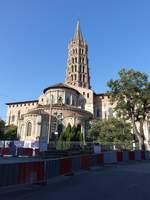 Toulouse, Basilika Saint-Sernin, erbaut ab 1080, Turm 12.