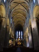 Albi, gotischer Innenraum der Kollegiatskirche Saint-Salvi (30.07.2018)