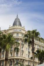 Hotel Carlton in Cannes.