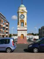 Bexhill, 19.08.2013, Clock Tower at West Parade (Built 1904)